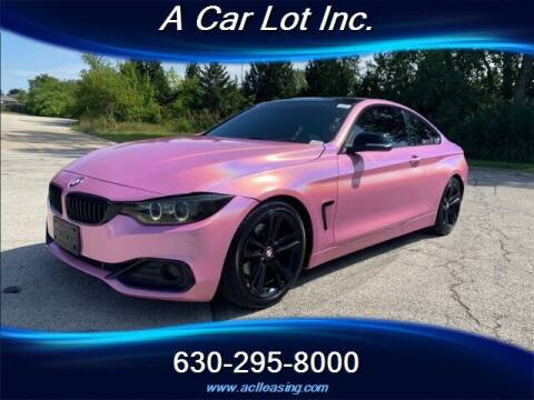 2015 BMW 4 Series for sale at A Car Lot Inc. in Addison IL