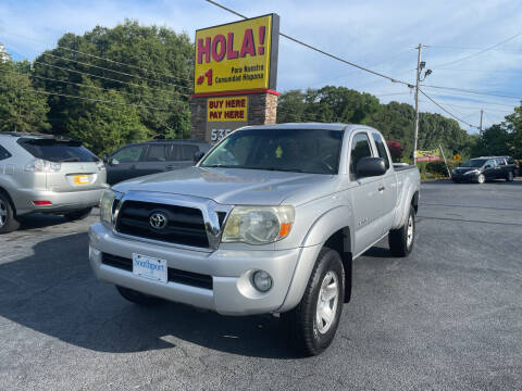 2005 Toyota Tacoma for sale at No Full Coverage Auto Sales in Austell GA