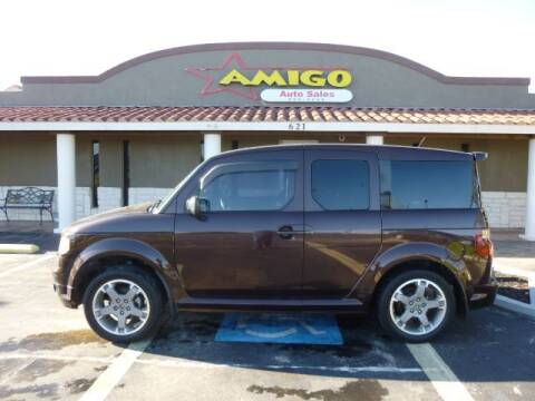 2008 Honda Element for sale at AMIGO AUTO SALES in Kingsville TX