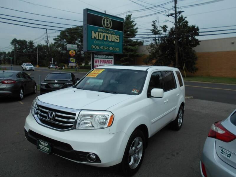 2013 Honda Pilot for sale at Brookside Motors in Union NJ