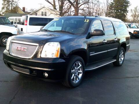2013 GMC Yukon XL for sale at Stoltz Motors in Troy OH