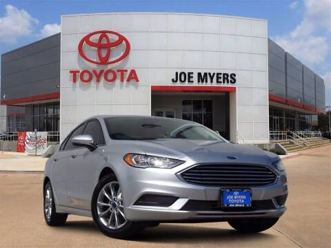 2017 Ford Fusion for sale at Joe Myers Toyota PreOwned in Houston TX