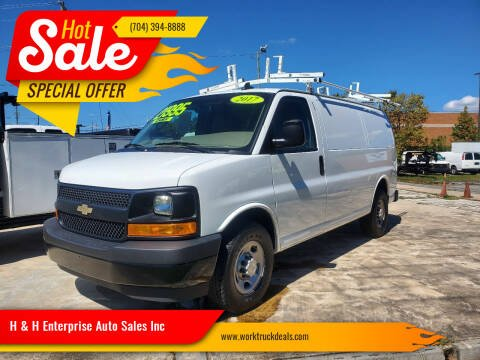 2017 Chevrolet Express Cargo for sale at H & H Enterprise Auto Sales Inc in Charlotte NC