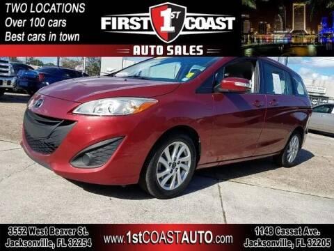 2013 Mazda MAZDA5 for sale at 1st Coast Auto -Cassat Avenue in Jacksonville FL