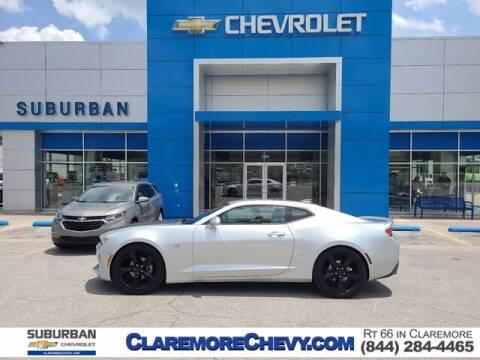 2017 Chevrolet Camaro for sale at Suburban Chevrolet in Claremore OK