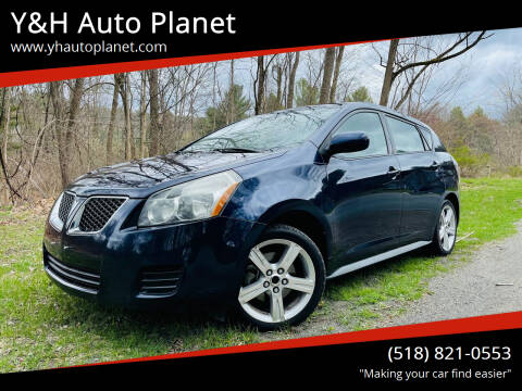 2009 Pontiac Vibe for sale at Y&H Auto Planet in West Sand Lake NY