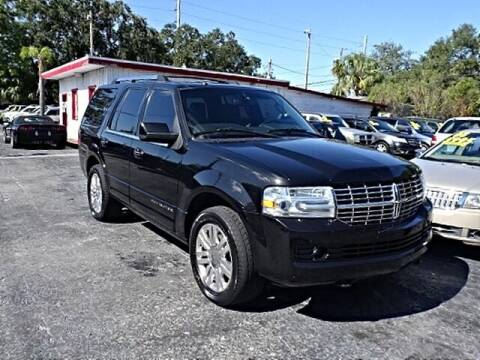 2012 Lincoln Navigator for sale at DONNY MILLS AUTO SALES in Largo FL