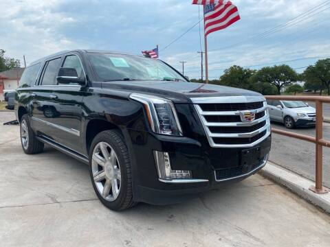 2016 Cadillac Escalade ESV for sale at Speedway Motors TX in Fort Worth TX