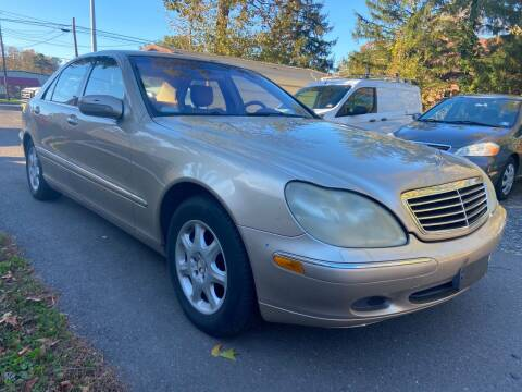 2002 Mercedes-Benz S-Class for sale at Jimmy Jims Auto Sales in Tabernacle NJ