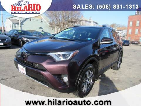 2017 Toyota RAV4 for sale at Hilario's Auto Sales in Worcester MA