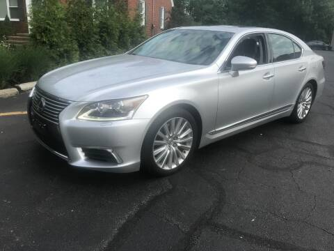 2014 Lexus LS 460 for sale at Renaissance Auto Network in Warrensville Heights OH