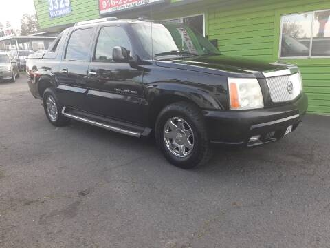 2003 Cadillac Escalade EXT for sale at Amazing Choice Autos in Sacramento CA