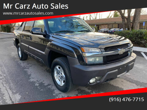 2004 Chevrolet Avalanche for sale at Mr Carz Auto Sales in Sacramento CA