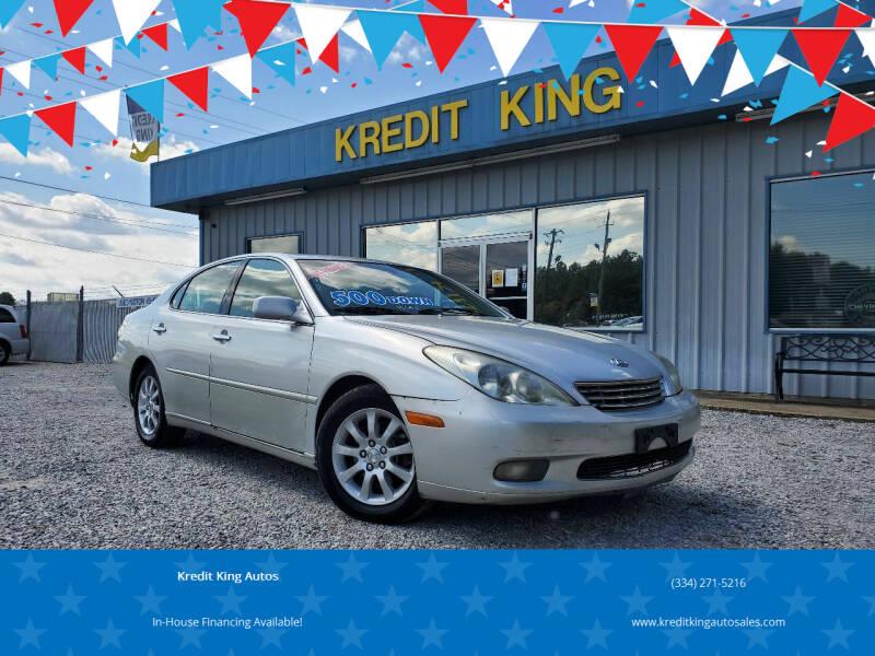 2002 Lexus ES 300 for sale at Kredit King Autos in Montgomery AL