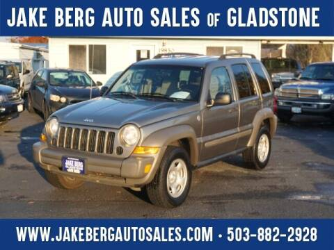 2007 Jeep Liberty for sale at Jake Berg Auto Sales in Gladstone OR