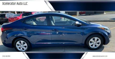 2016 Hyundai Elantra for sale at Xcelerator Auto LLC in Indiana PA