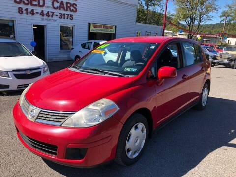 2008 Nissan Versa for sale at George's Used Cars Inc in Orbisonia PA