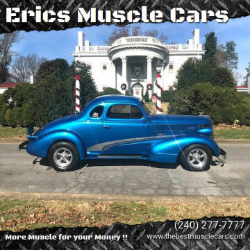 1938 Pontiac Street Rod Coupe for sale at Erics Muscle Cars in Clarksburg MD
