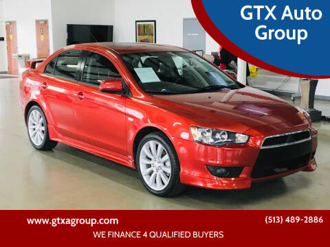 2009 Mitsubishi Lancer for sale at GTX Auto Group in West Chester OH