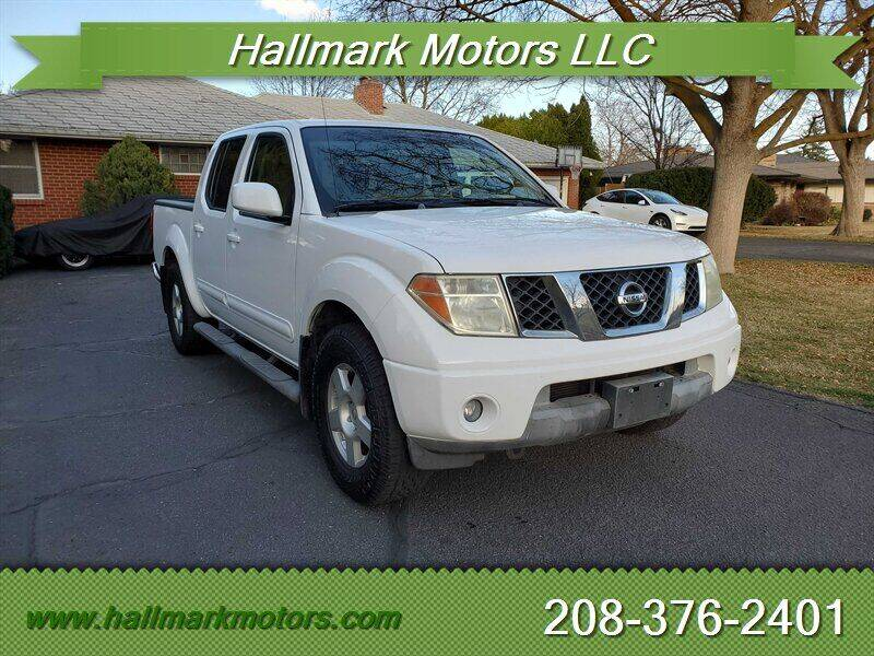 2006 Nissan Frontier for sale at HALLMARK MOTORS LLC in Boise ID