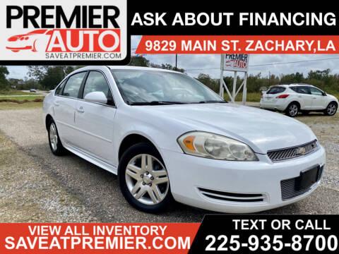2012 Chevrolet Impala for sale at Premier Auto in Zachary LA