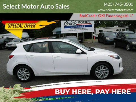 2012 Mazda MAZDA3 for sale at Select Motor Auto Sales in Lynnwood WA