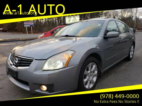 2007 Nissan Maxima for sale at A-1 Auto in Pepperell MA