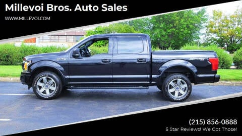 2019 Ford F-150 for sale at Millevoi Bros. Auto Sales in Philadelphia PA