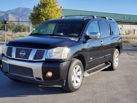 2006 Nissan Armada for sale at FRESH TREAD AUTO LLC in Springville UT