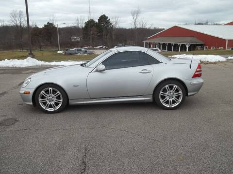 2004 Mercedes-Benz SLK for sale at Rt. 44 Auto Sales in Chardon OH