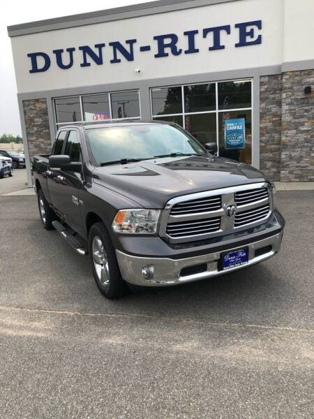 2018 RAM Ram Pickup 1500 for sale at Dunn-Rite Auto Group in Kilmarnock VA