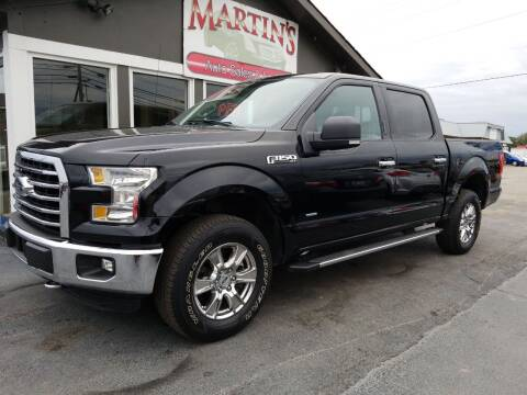2016 Ford F-150 for sale at Martins Auto Sales in Shelbyville KY
