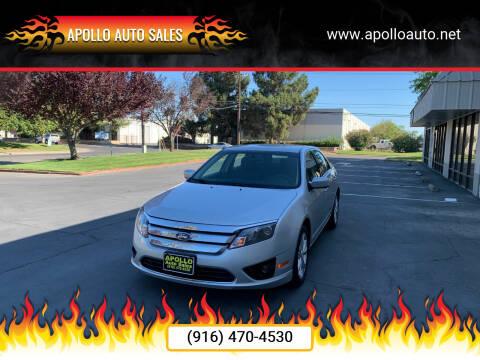 2012 Ford Fusion for sale at APOLLO AUTO SALES in Sacramento CA