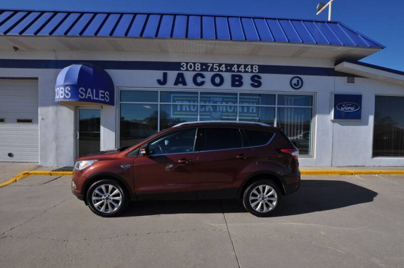 2018 Ford Escape for sale at Jacobs Ford in Saint Paul NE