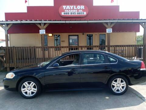 2012 Chevrolet Impala for sale at Taylor Trading Co in Beaumont TX