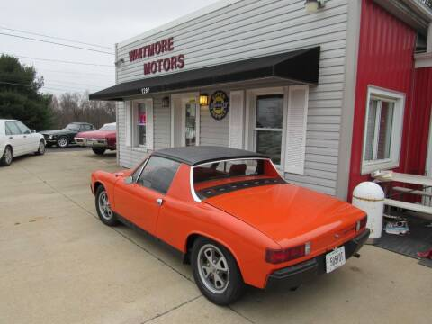 1973 Porsche 914 for sale at Whitmore Motors in Ashland OH