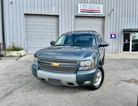 2009 Chevrolet Avalanche for sale at CTN MOTORS in Houston TX