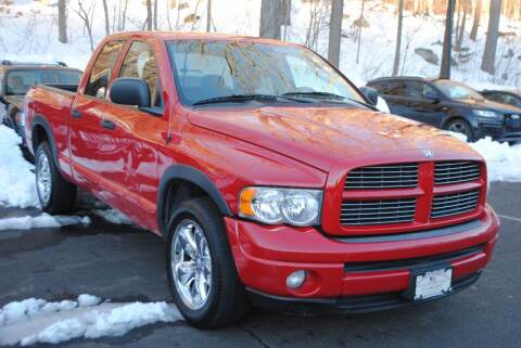 2005 Dodge Ram Pickup 1500 for sale at Ramsey Corp. in West Milford NJ
