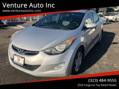 2012 Hyundai Elantra for sale at Venture Auto Inc in South Gate CA