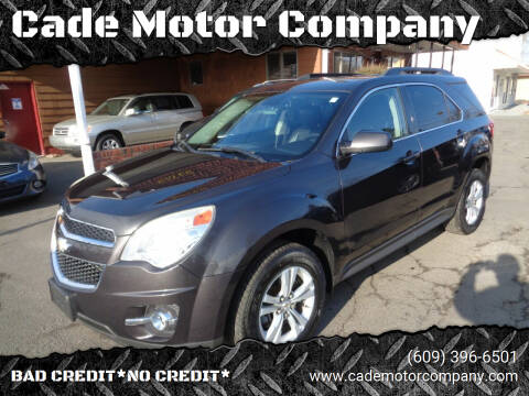 2013 Chevrolet Equinox for sale at Cade Motor Company in Lawrenceville NJ