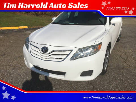2011 Toyota Camry for sale at Tim Harrold Auto Sales in Wilkesboro NC