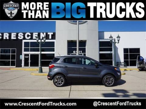2020 Ford EcoSport for sale at Crescent Ford in Harahan LA