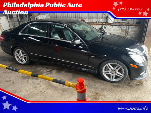 2012 Mercedes-Benz E-Class for sale at Philadelphia Public Auto Auction in Philadelphia PA
