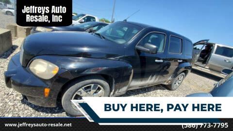 2007 Chevrolet HHR for sale at Jeffreys Auto Resale, Inc in Clinton Township MI