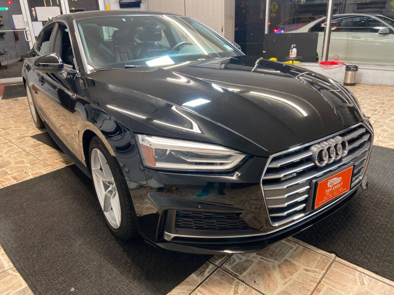 2018 Audi A5 Sportback for sale at TOP SHELF AUTOMOTIVE in Newark NJ