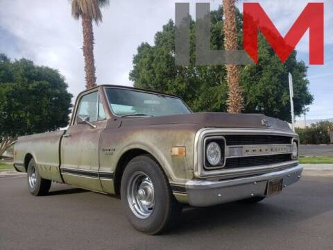 1970 Chevrolet C/K 10 Series for sale at INDY LUXURY MOTORSPORTS in Fishers IN