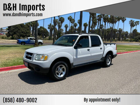 2004 Ford Explorer Sport Trac for sale at D&H Imports in San Diego CA