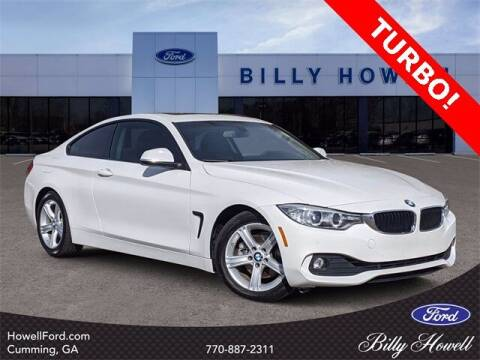 2015 BMW 4 Series for sale at BILLY HOWELL FORD LINCOLN in Cumming GA