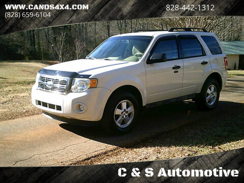 2010 Ford Escape for sale at C & S Automotive in Nebo NC