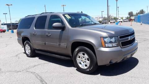 2011 Chevrolet Suburban for sale at CAMEL MOTORS in Tucson AZ